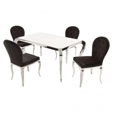 TERESA-DT-OVL 5 Piece Dining Set by Chintaly