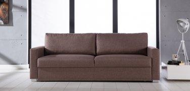 Felix Diego Light Brown Convertible Sofa Bed