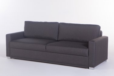 Felix Diego Dark Gray Convertible Sofa Bed