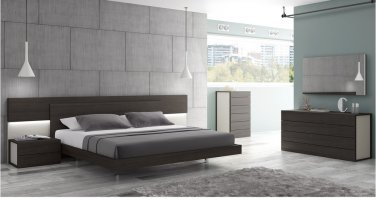 Maia Queen Size Premium Bedroom Set by J&M