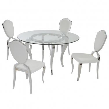 Letty 5 Piece Dining Set by Chintaly