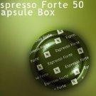 Nespresso Espresso Forte Pro Coffee 50 Commercial Capsule Box Fresh
