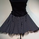 Pin-Up Girl --- Circle skirt with Crinoline Underlayer       SC2-2014