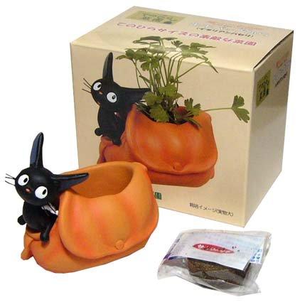 Mini Planter Pot & Seed & Soil - Italian Parsley - Jiji - Kiki's Delivery Service - Ghibli (new)