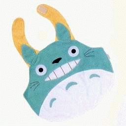 Ghibli - Smiling Totoro - Baby Bib (new)
