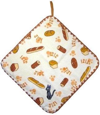 Ghibli - Kiki's Delivery Service - Jiji - Loop Hand Towel - Jiji Embroidered (new)