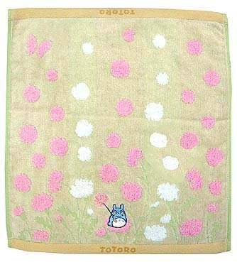 Ghibli - Totoro - Hand Towel - Chu Totoro Embroidered -NonTwistedThread & Jacquard -nohara-pink(new)