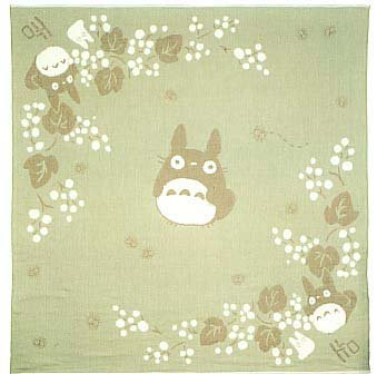 Ghibli - Totoro - Small Blanket - Organic Cotton & Pile - kinomi - VERY RARE - SOLD OUT (new)