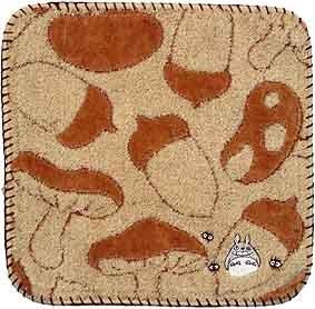 Totoro - Mini Towel - Non Twisted Thread - Totoro & Makkuro Kurosuke Embroidered (new)
