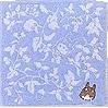 Ghibli - Totoro - Mini Towel - Totoro Embroidered - Non Twisted Thread - blue (new)