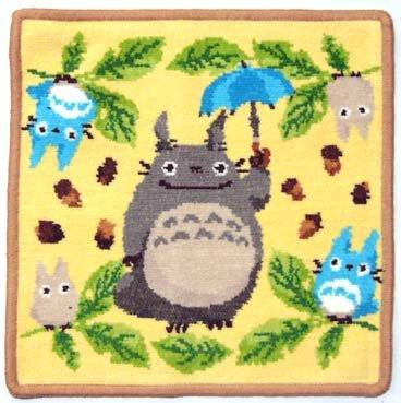 Totoro - Mini Towel - Chenille Weave - Reversible - Tenki (new)