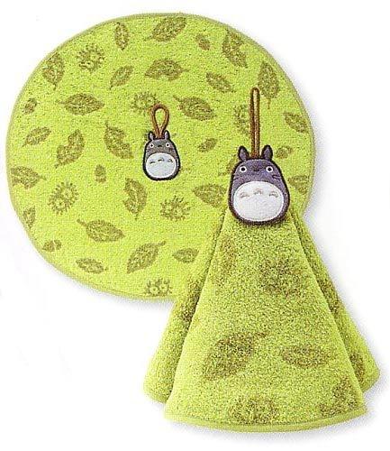 Ghibli - Totoro - Loop Round Towel - Totoro Embroidered - kokage - green - 2006 (new)