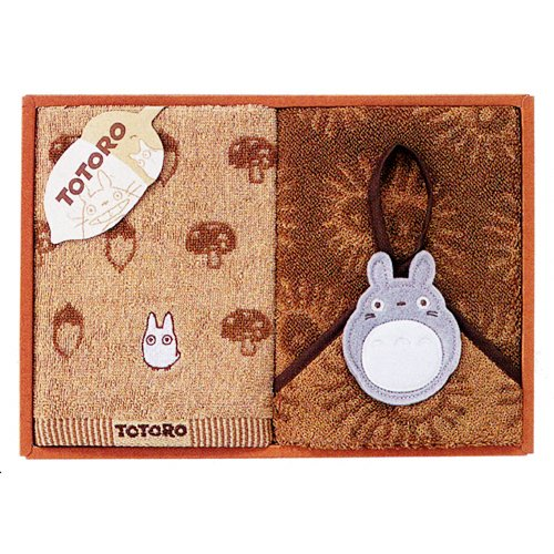 Totoro - Towel Gift Set - Wash & Loop Hand Towel - Family - SOLD OUT (new)