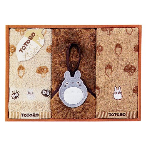 Totoro - Towel Gift Set - 2  Wash & Loop Hand Towel - Family - SOLD OUT (new)