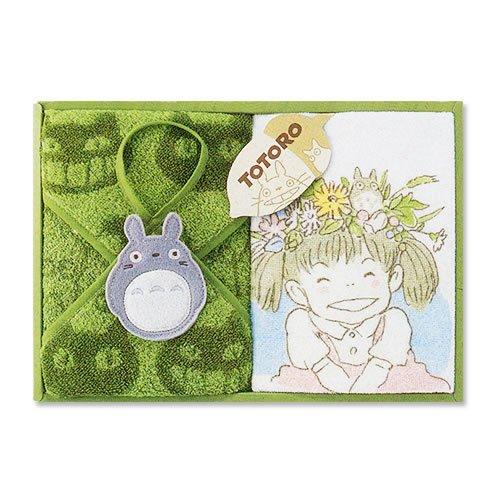 Ghibli - Totoro - Towel Gift Set - Wash & Loop Hand Towel - Hohoemi - RARE (new)