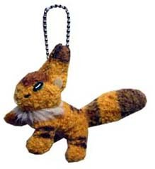 Ghibli - Nausicaa - Kitsunerisu - Chain Strap Holder - Soft Plush Doll - SOLD OUT (new)