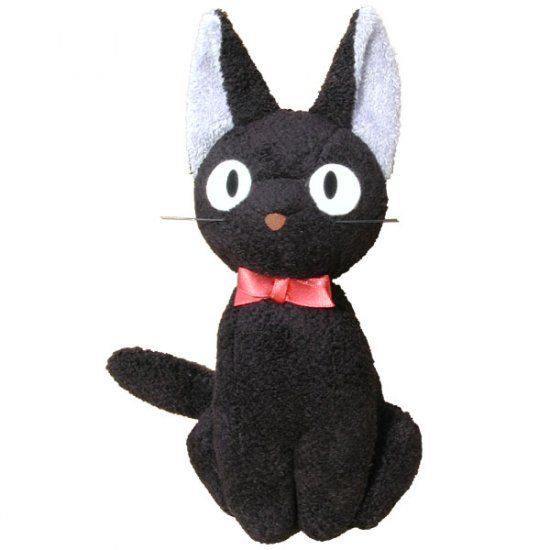 Plush Doll - Jiji (M) - H20cm - Kiki's Delivery Service - Ghibli - Sun Arrow (new)