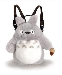 Backpack Bag (S) - Plush Doll - Totoro - Ghibli - Sun Arrow (new)