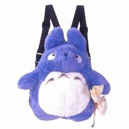 Backpack Bag (L) - Plush Doll - Chu Totoro - Ghibli - Sun Arrow (new)
