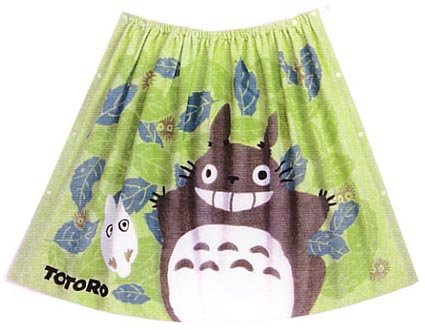 Ghibli - Totoro & Sho Totoro - Wrapping Towel - 80x120cm - Shirring - haoto - 2006 - SOLD OUT (new)