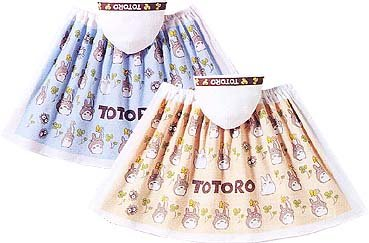 Ghibli - Totoro & Sho Totoro - Kids Wrapping Towel with Hood - 60x120cm - clover - orange (new)