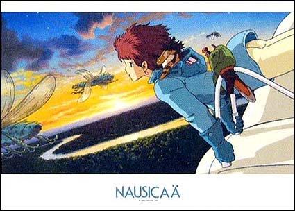 1000 Small pieces Jigsaw Puzzle - akatsuki no sora - Nausicaa - Ghibli (new)