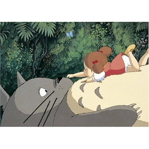 108 pieces Jigsaw Puzzle - totoro no onaka no uede - Totoro & Mei - Ghibli - Ensky (new)