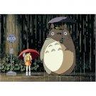 108 pieces Jigsaw Puzzle - ame no basutei - Totoro & Mei & Satsuki - Ghibli - Ensky (new)