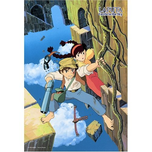 300 pieces Jigsaw Puzzle - pazu to sheeta - Laputa - Ghibli - Ensky (new)