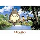 500 pieces Jigsaw Puzzle - Made in JAPAN - fishing - Chu Sho Totoro Mei Satsuki Ghibli