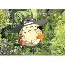 500 pieces Jigsaw Puzzle - sanpo - Totoro & Mei & Satsuki - Ghibli - Ensky (new)