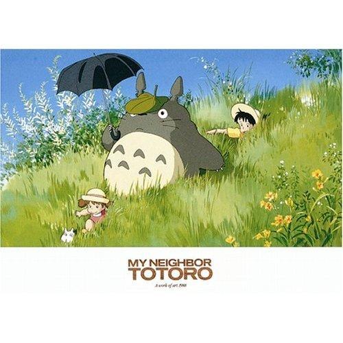 500 pieces Jigsaw Puzzle - art 1988 - Totoro & Sho Totoro & Mei & Satsuki - Ghibli - Ensky (new)
