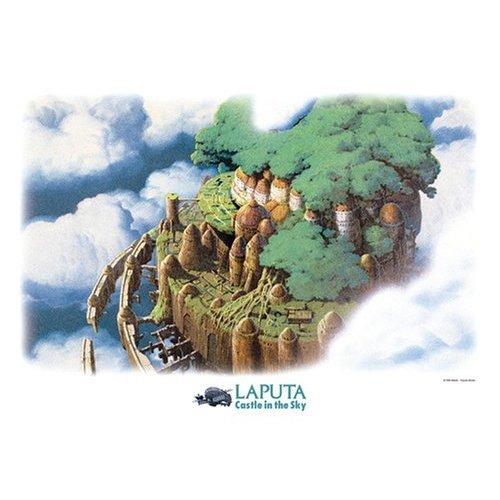 500 pieces Jigsaw Puzzle - tenku no shiro - Laputa Castle - Ghibli - Ensky (new)
