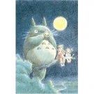 1000 pieces Jigsaw Puzzle - ocarina wo fuku totoro - Totoro & Mei & Satsuki - Ghibli (new)