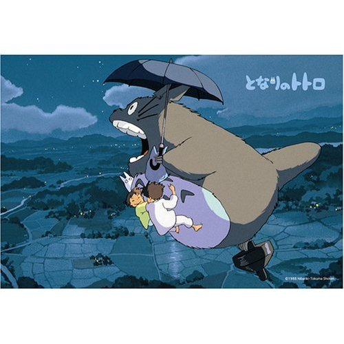 Ghibli - Totoro & Sho Totoro & Satsuki & Mei - 70 pieces Jigsaw Puzzle - yozora no sanpo (new)