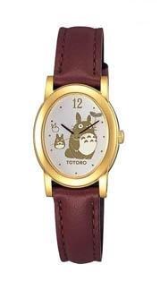 Wrist Watch in Box Case - Seiko - gold - Totoro & Chu Totoro & Sho Totoro - Ghibli - Alba (new)