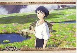 Ghibli - Howl's Moving Castle - 5 Postcards Set #1 - SOLD OUT  (new)