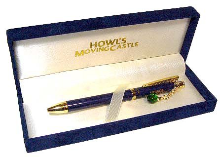 Ghibli - Howl's Moving Castle - Mechanical Pencil (0.5mm) & Ball-point Pen (black&red)-SOLD OUT(new)