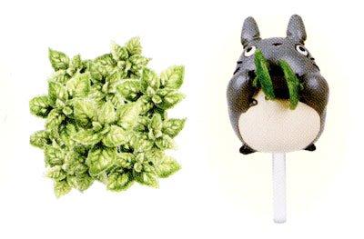 Ghibli - Totoro - Planter Pot & Pick & Seed & Soil Set - Lemon Balm (new)