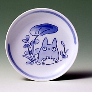 Ghibli - Totoro - Plate (S) - White Porcelain - Noritake - out of production - SOLD OUT (new)