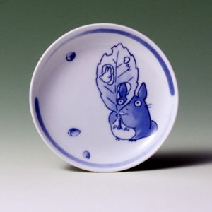 Ghibli - Totoro & Sho - Plate (S) - White Porcelain - Noritake -out of production- SOLD OUT (new)