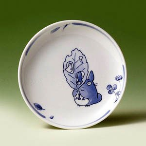 Ghibli - Totoro & Sho - Plate (M) - White Porcelain - Noritake #2 -out of production-SOLD OUT(new)