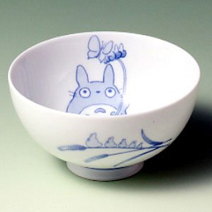 Ghibli - Totoro & Sho - Rice Bowl - White Porcelain - Noritake #1 -out of production- RARE (new)