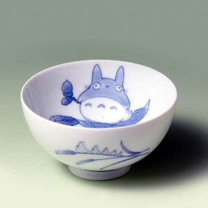 Ghibli - Totoro & Sho - Rice Bowl - White Porcelain - Noritake #2 -out of production- SOLD OUT(new)