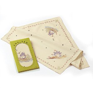 Ghibli - Totoro - Table Napkin - Cotton - Noritake - out of production - SOLD OUT (new)
