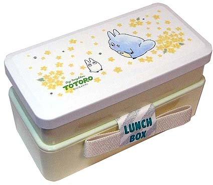 Ghibli - Chu & Sho Totoro - 2 Tier Lunch Bento Box & Belt - yamabuki -outproduction-SOLD(new)