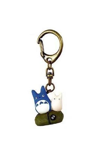 Ghibli - Chu Totoro & Sho Totoro & Kurosuke - Key Holder (new)