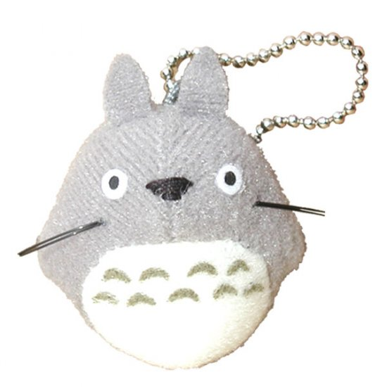 Chain Strap Holder - Mascot - gray - Totoro - Ghibli - Sun Arrow (new)