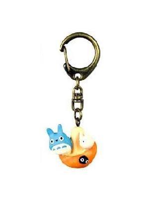 1 left - Key Holder - Totoro & Sho Totoro & Kurosuke - Mushroom - Ghibli - no production (new)