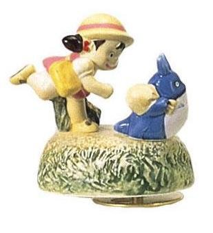 Music Box - Rotary - Porcelain - deai2 - Chu & Sho Totoro & Mei - sekiguchi - no production (new)
